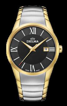 Delma Tartagona Black Dial 2 tone