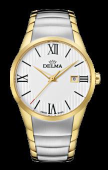 Delma Tartagona White Dial 2 tone