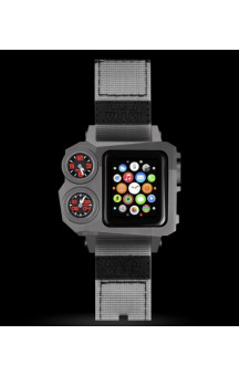 MTM Status A38 Gray Apple Watch Case