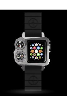 MTM Status A38 Silver Apple Watch Case