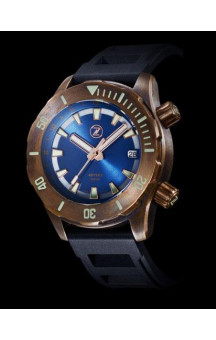 Zelos Abyss 2 Blue Dial