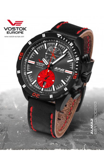 Vostok-Europe Almaz 320C260 Leather strap