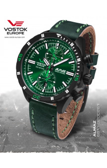 Vostok-Europe Almaz 320C261 Leather-Strap