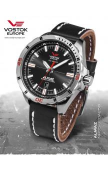 Vostok-Europe Almaz 320A258 Leather - Strap