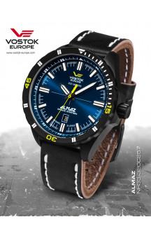 Vostok-Europe Almaz 320C257 Leather-Strap