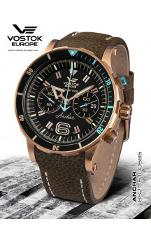 Vostok Europe Anchar Chronograph 510O585 Leatherstrap