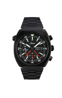 Sinn Art-Nr. 140.030 PVD Coated Space chronograph Steelbracelet