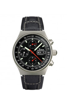 Sinn Art-Nr. 144.066  Sporty Chronograph Leatherstrap