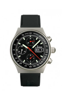 Sinn Art-Nr. 144.066  Sporty Chronograph Silikonestrap