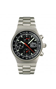 Sinn Art-Nr. 144.066  Sporty Chronograph Steelbracelet