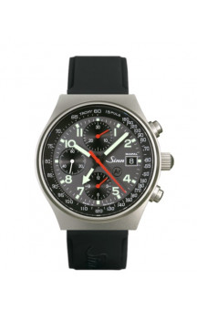 Sinn Art-Nr. 144.068 World Time Chronograph Siliconestrap