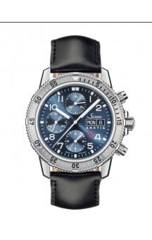 Sinn Art-Nr. 206.012 206 Arktis 6 Diver Chronograph Leatherstrap