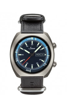 Sinn Art-Nr. 240.011 Sporty Watch With Inner Pilot Bezel Dual Apple System