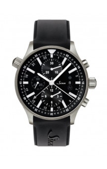 Sinn Art-Nr. 900.011 900 The Large Pilot Chronograph Siliconestrap
