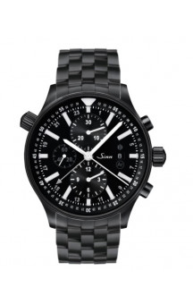 Sinn Art-Nr. 900.020 900 The Large Pilot Chronograph PVD Coated Steelbracelet