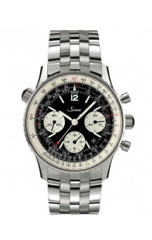 Sinn Art-Nr. 903.040 Navigation Chronograph Steelbracelet