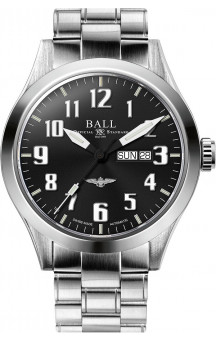 Ball Engineer III Silver Star NM2180C-S2J-BK
