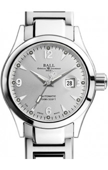 Ball Engineer Ohio White Ladies REF. NL1026C-SJ-SL