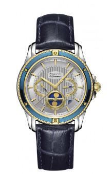 Auguste Reymond Magellan Quartz blue PVD  AR.7686.3.710.6