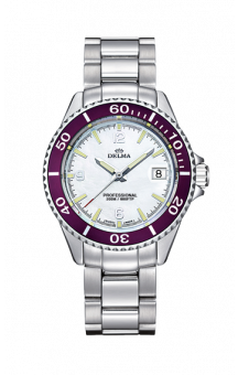 Delma Santiago Quatz Steel White 37 mm