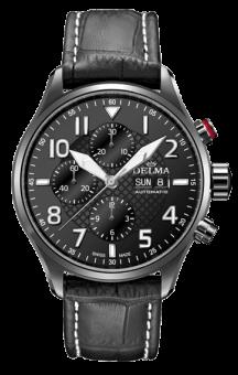 Classic Aero Chronograph Black Strap