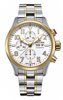 Classic Aero Chronograph T.T. White