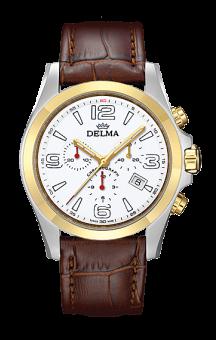 Delma Modena T.T. White Leatherstrap