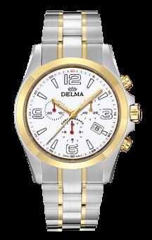 Delma Modena T.T. White Steel Bracelet