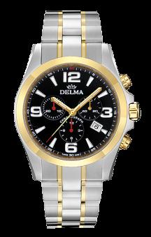 Delma Modena T.T. Black Steel Bracelet