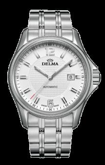 Delma Automatic San Marino Steel Bracelet White Dial