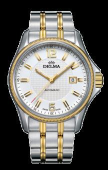 Delma Automatic San Marino T.T. Bracelet White Dial