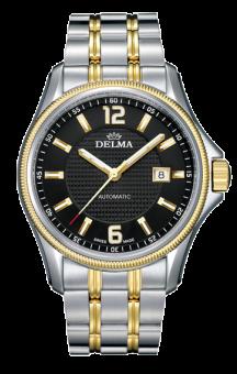 Delma Automatic San Marino T.T. Bracelet Black Dial
