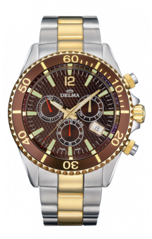 Delma Santiago Chrono Quartz T.T. Brown