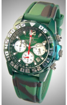 FIREFOX Chronograph Military Green