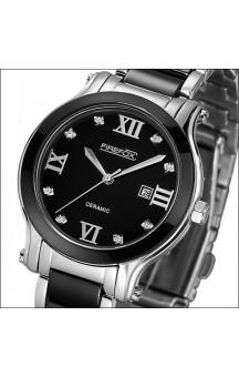 FIREFOX watch zirconia keramik rustfrit stål FFS1015-102 black