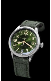 Schaumburg Watch Flightmatic/ Date Green 1930´s