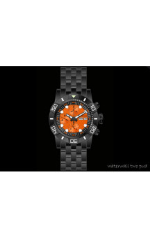 Nauticfish Waterfall Chronograph PVD Orange