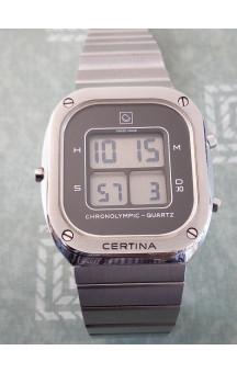 Certina Chronoolympic Quartz LCD (NOS)
