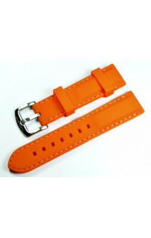 MARC & SONS Rubber strap, color orange