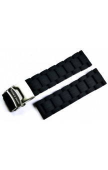 MARC & SONS Rubber strap color black