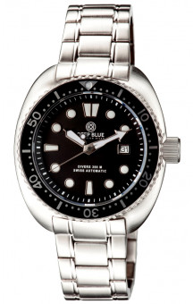 Military Diver 300 Swiss Automatic Steel Band