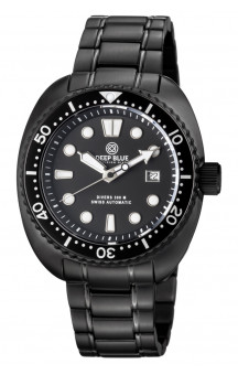 Military Diver PVD 300 Swiss Automatic Steel Band