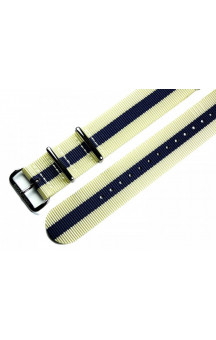 MARC & SONS Nato strap color beige blue