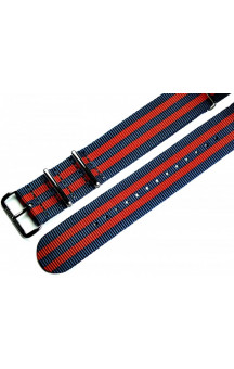 MARC & SONS Nato strap color blue red