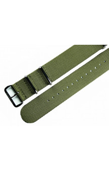 MARC & SONS Nato strap color green