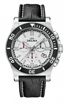 Delma New Castle Leather Chronograph 200 M