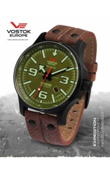 Expedition North Pole 01 NH35-5954231 Leather Strap