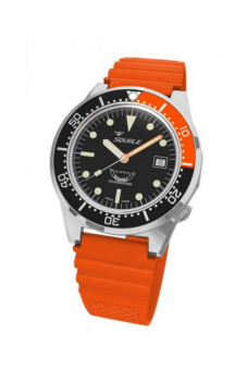 Squale 1521-026 B Orange Rubberband