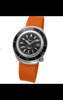 Squale 2002 101 Orange Rubberband