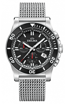 Delma New Castle Mesh Chronograph 200 M